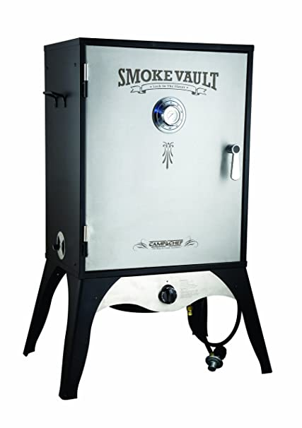 Camp Chef Smoker 24quot Smoke Vault Extra Large With Stainless Door And Adjustable