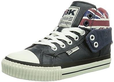 British Knights Unisex-Erwachsene ROCO Hohe Sneaker, Weiß (White/Union Jack), 44 EU