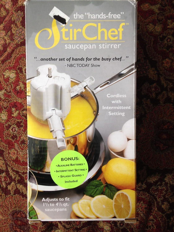 StirChef SAUCEPAN STIRRER HandsFree StoveTop cooking by StirChef: Amazon.es: Hogar
