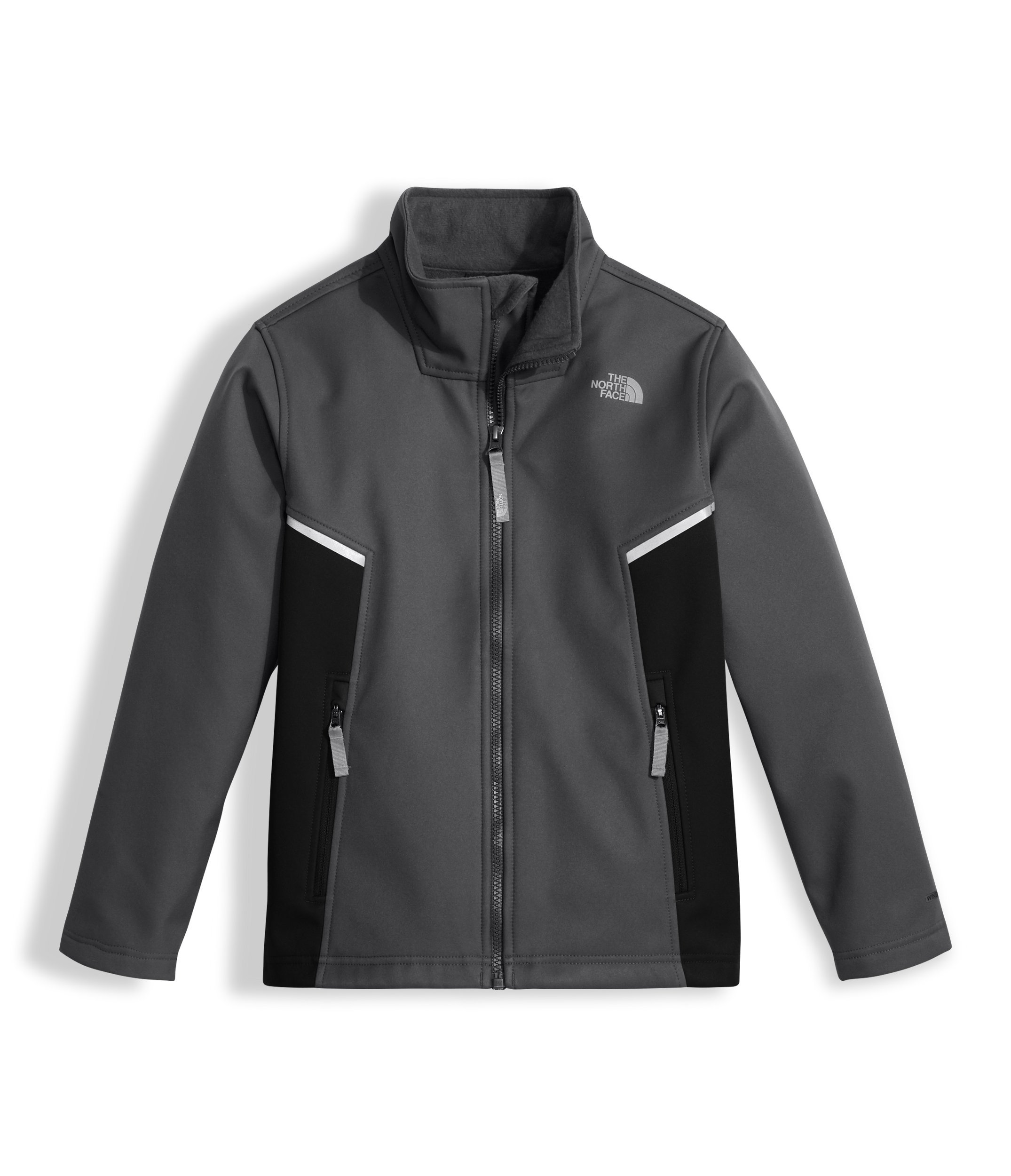 The North Face Kids Boy's Apex Bionic Jacket (Little Kids/Big Kids) Graphite Grey (Prior Season) SM (7-8 Big Kids)