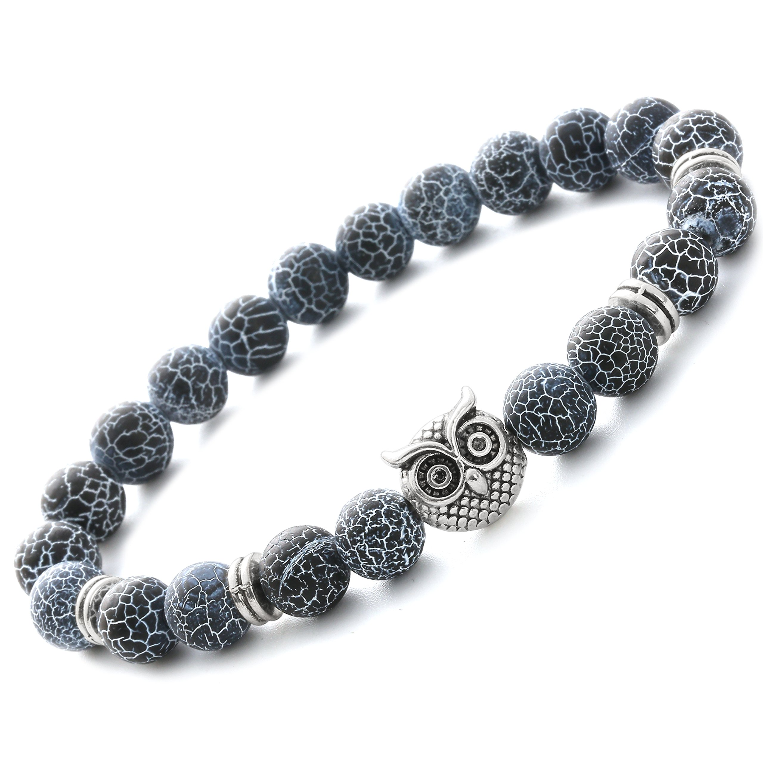 stone img bead stretch silversuspensions beaded lava products bracelet