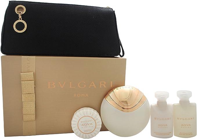 Bvlgari Aqva Divina - Agua de perfume, 5 piezas, 200 gr: Amazon.es: Belleza