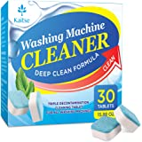 Kaitse Washing Machine Cleaner Effervescent Tablets, Solid Washer Deep Cleaning Tablet, Triple Decontamination Remover…