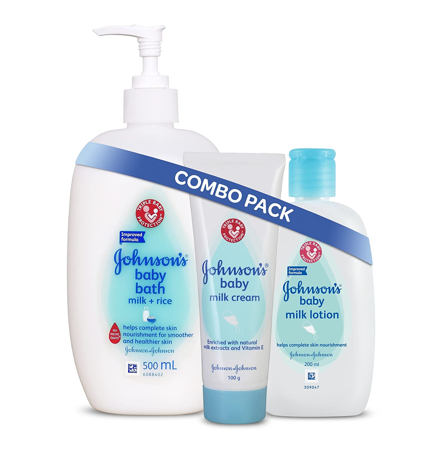 Buy Johnson\'s Baby Milk & Rice Bath, 500ml Online at Low Prices in ...