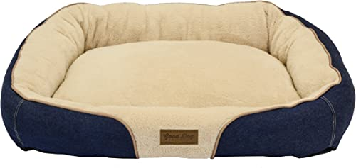Dallas Manufacturing Co. 34 X25 Large Bolster Dog Bed