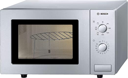 Bosch HMT72G450, 1000 W, 230V, 50Hz, Color Plateado, 462 x 320 x 290 mm, 13000 g - Microondas
