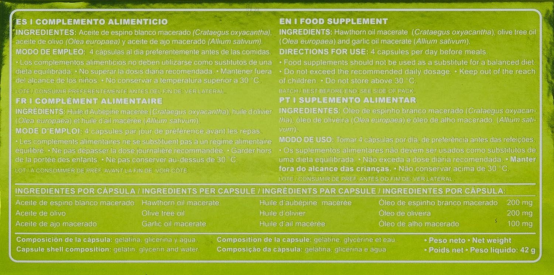 Amazon.com : MARNYS TENSIOMAR ACEITE DE ESPINO BLANCO, AJO Y OLIVO 60 PERLAS : Grocery & Gourmet Food