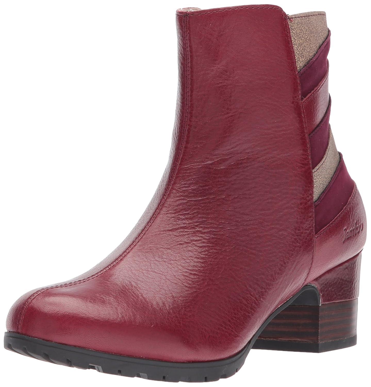 Jambu Women's Amal Water Resistant Ankle Bootie B01N7Z07O3 6.5 B(M) US|Wine Multi