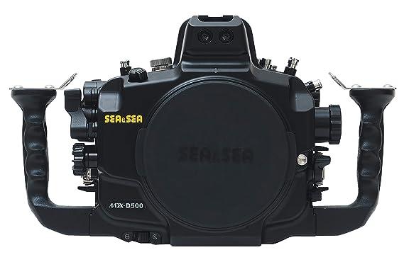 Amazon.com: Sea & Sea mdx-d500 Vivienda para cámara Nikon ...