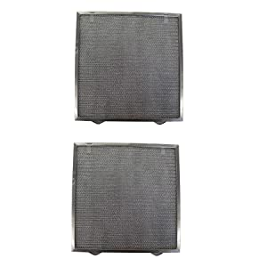 Replacement Aluminum Filters Compatible with Broan S97017415,G-8193, -13-3/4 X 14 X 3/8 (2 PTSS, 2 TSSS) (2-Pack)