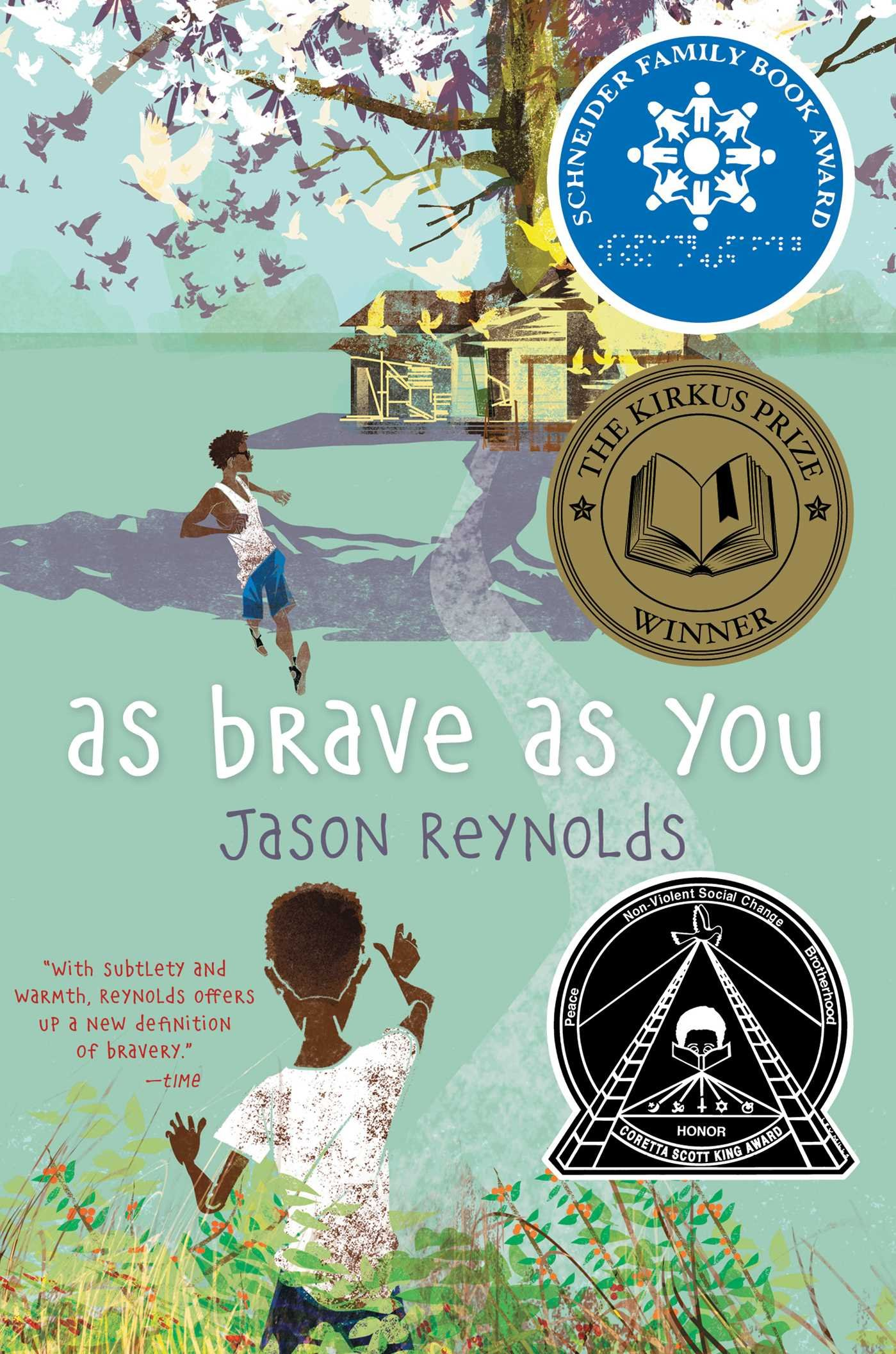 Image result for as brave as you book cover