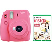 instax Mini 9 Camera with 30 Shots - Flamingo Pink