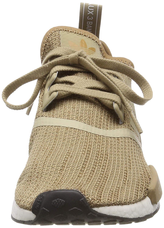 Adidas Herren NMD_r1 Fitnessschuhe Braun (Brown/Raw Gold/Cardboard/Ftwr White)