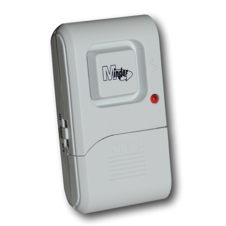 Schockalarm mit Vibration fü r Fenster und Tü ren (130 dB Lautstä rke, geeignet fü r Wohnwagen) Minder