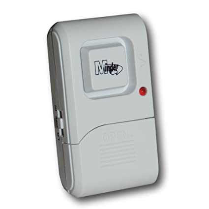 Minder Loud - Alarma de vibración para puerta de 130 dB con ...