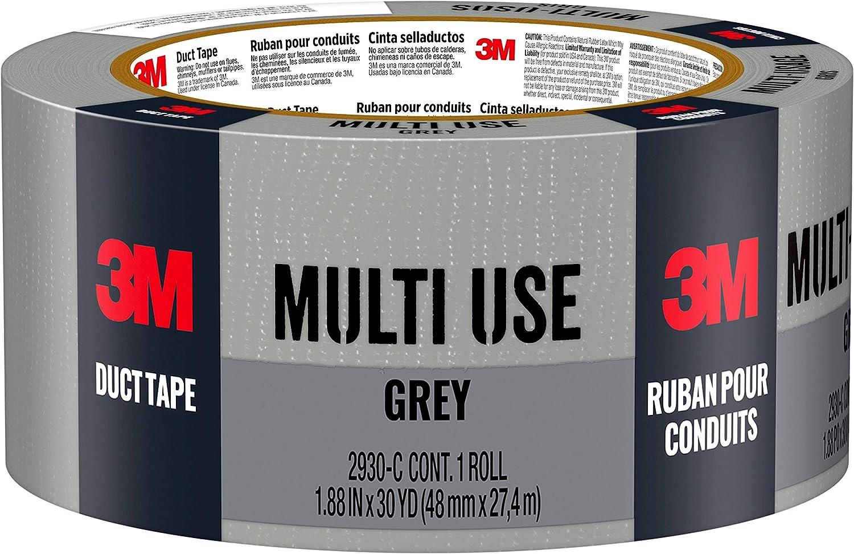 2 Pack 3M Scotch 1.88-Inch by 30-Yard Scotch Multi Use Duct Tape