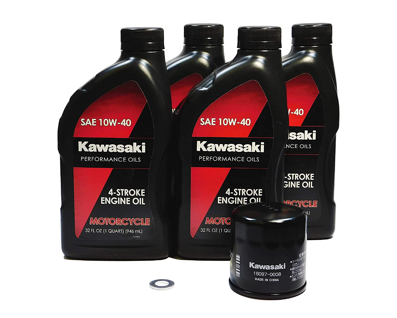 Amazon.com: Kawasaki Ninja 1000 ZX1000 1000 ABS OEM Oil ...