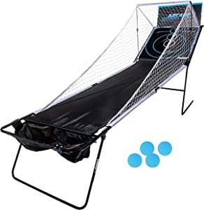 Franklin Sports Whirl-Ball Arcade Game - 4 Arcade Balls and Over 5ft Ramp - Game Room Ready - Kid and Family Fun All Game Night!