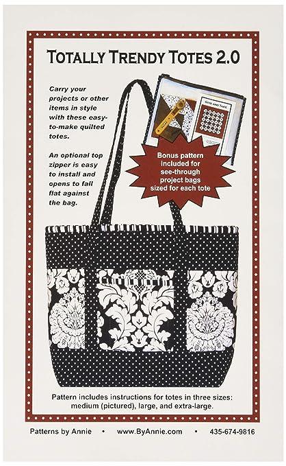 ced9e782eb Amazon.com: Annie PBA-112 Totally Trendy Tote Bag