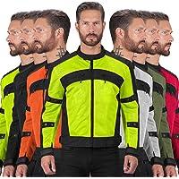 $26 » Motorcycle Jackets for Men Viking Cycle Ironside Men's Mesh Motorcycle Jacket