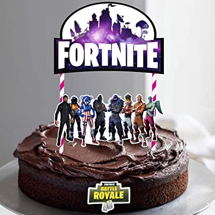 Amazon Com Video Game Cake Topper 7 Inch Birthday Cake Topper And
