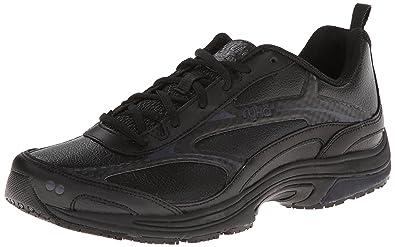 RYKA Women's Intent XT 2 SR Trail Running Shoe,Black/Chrome Silver,6