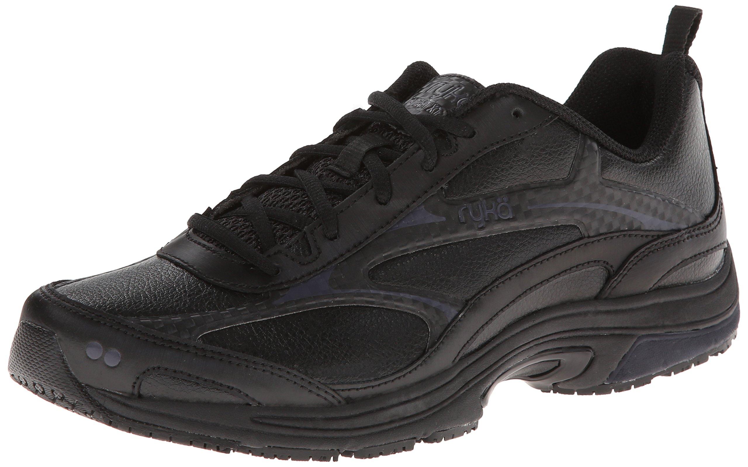 Ryka Women's Intent XT 2 SR Trail Running Shoe,Black/Chrome Silver,9 M US