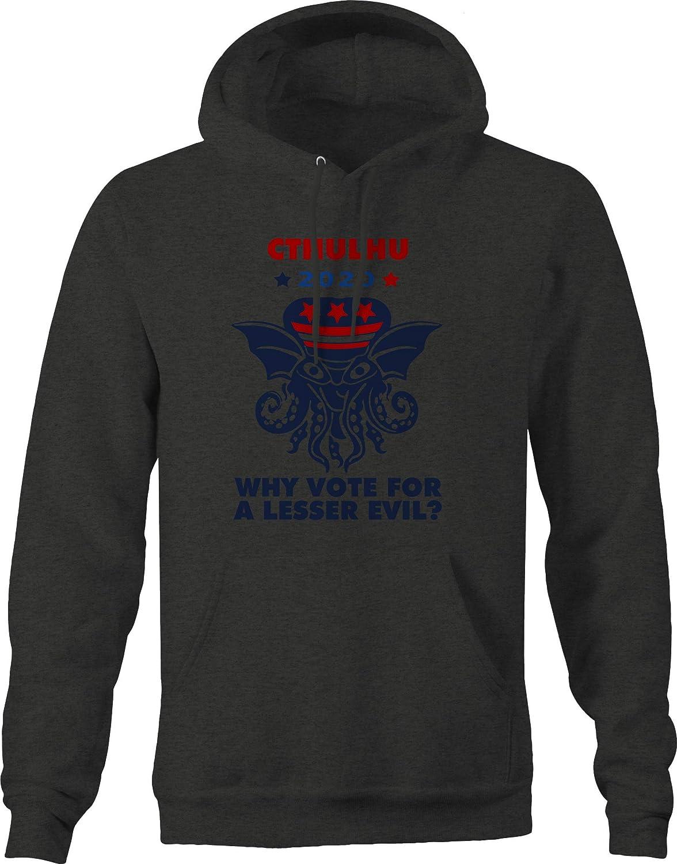 M22 Cthulhu 2016 Vote President Trump Lesser Evil Sweatshirt