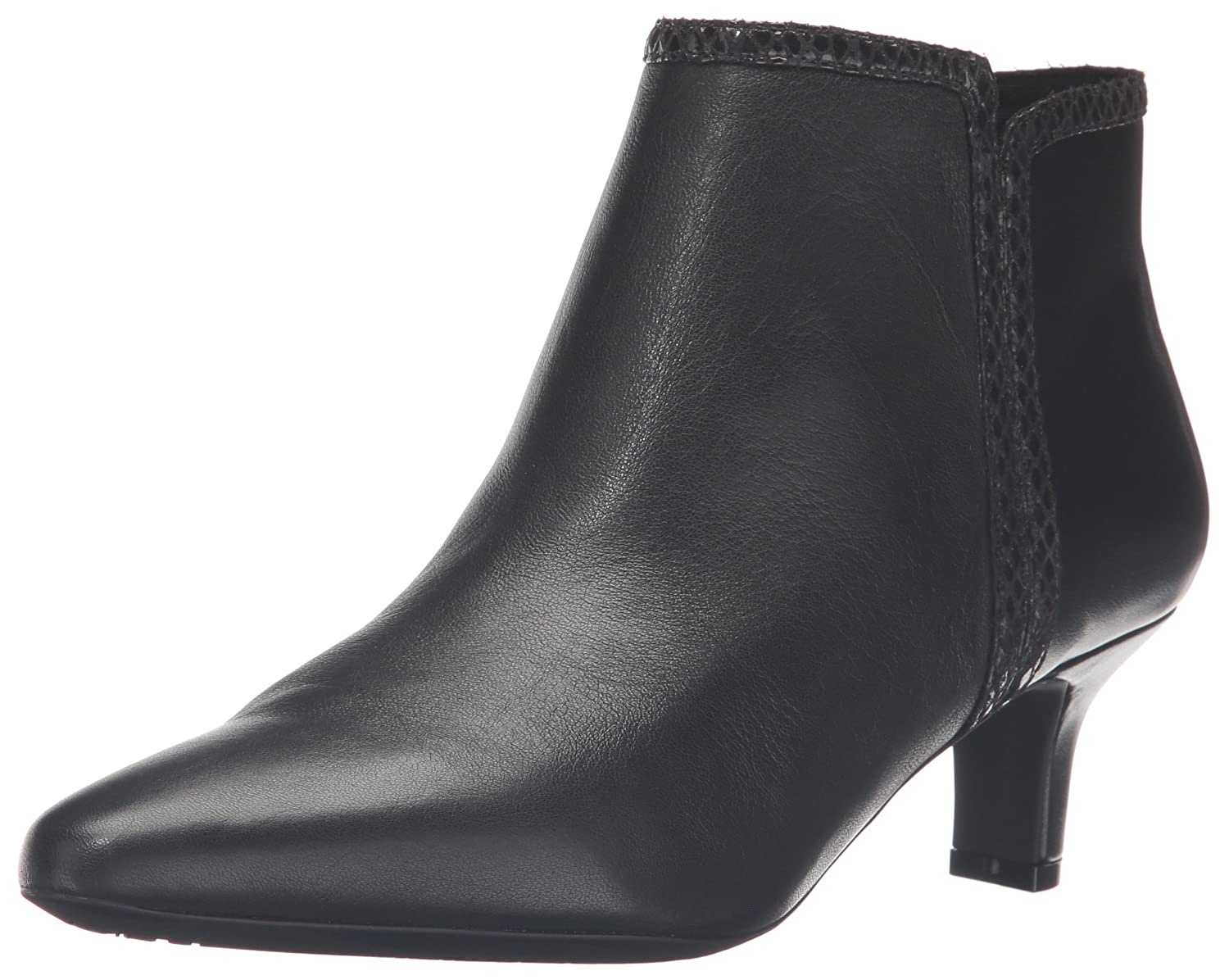 Rockport Women's Kimly Ankle Bootie B01D3NMGFC 10 B(M) US|Black Leather