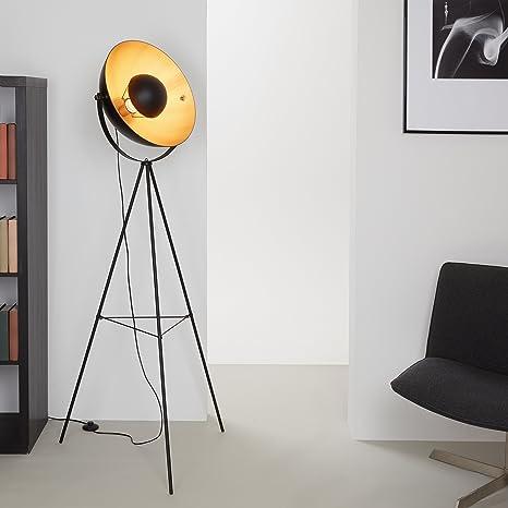 Briloner Leuchten Piantana retro vintage, lampada, da soggiorno ...