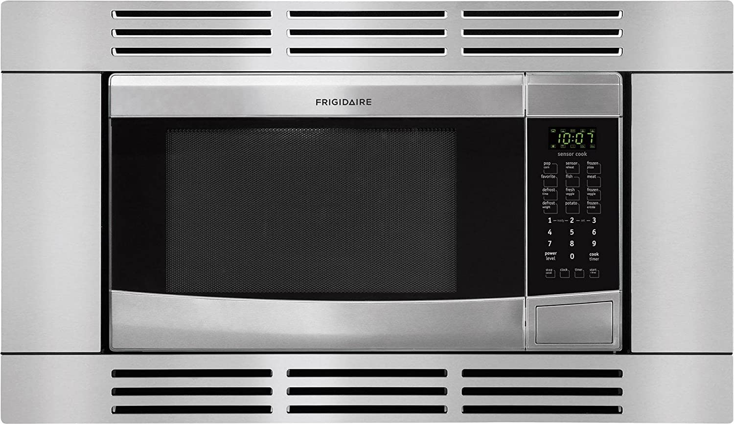 Ft Frigidaire FFMO1611LS1.6 Cu Stainless Steel Countertop Microwave