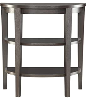 Convenience Concepts Modern Newport 3 Shelf Console, Rich Espresso