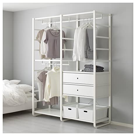 IKEA elvarli - 2 secciones blanco: Amazon.es: Hogar