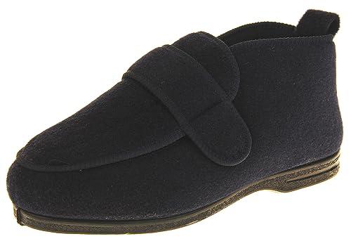 Coolers Zapatillas de Estar por Casa de Hombre Fieltro Velcro: Amazon.es: Zapatos y complementos
