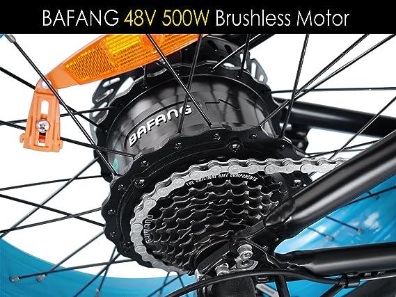 Addmotor - Motan - Bicicleta eléctrica plegable montaña Gran númatico 20špara todo terreno 500 W motor, Batería Lon-litio M150 azul: Amazon.es: Deportes y ...
