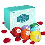 Amazon Price History for:Enther Bath Bombs Gift Set, 6 Pack Large Size (3.18 Oz/ea) Handmade Organic Essential Oil Bathbombs for Adults and Kids, Perfect for Bubble Bath, Pearl Aromatherapy Bath Bomb in Gift Box (Mixed)