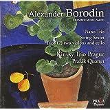 Trio avec piano. sextuor a cordes trios a cordes n° 1 & 2. serenata alla spagnol