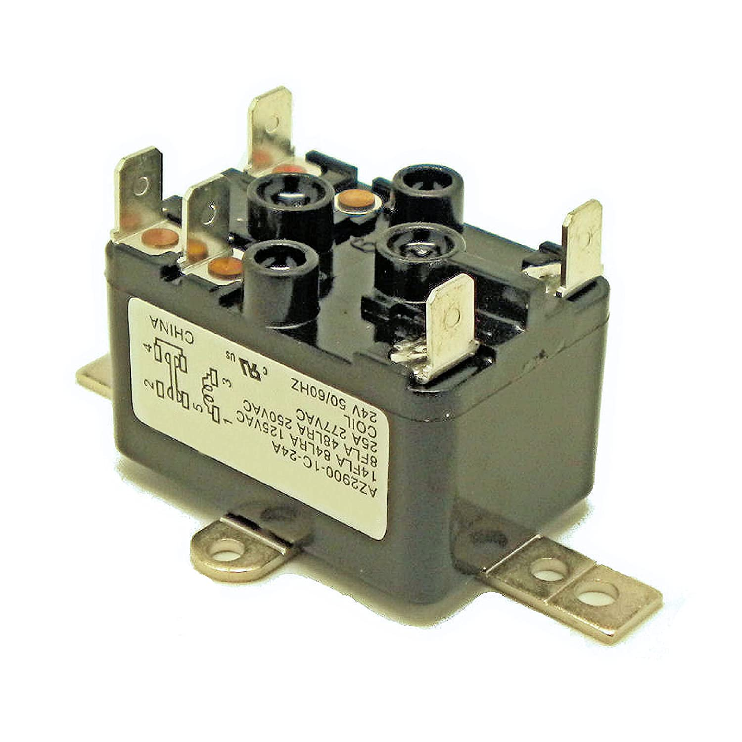 Relay Spdt 24 Volt Coil Onetrip Parts Direct Replacement For Rheem Ruud Ignitor Gas Furnace Circuit Control Board Weatherking Oem Part 42 25104 06 Household Electronic Relays