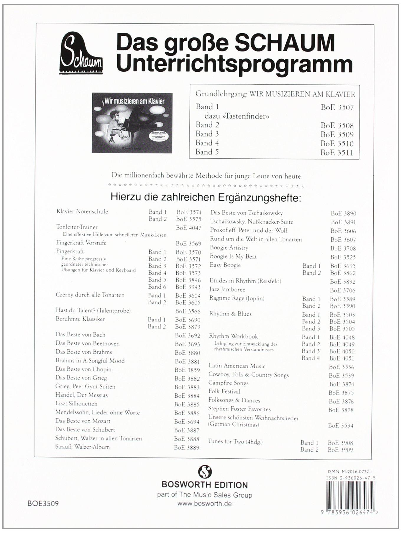 Wir Musizieren Am Klavier, Bd. 3 -Für Klavier-: Buch: Amazon.de ...