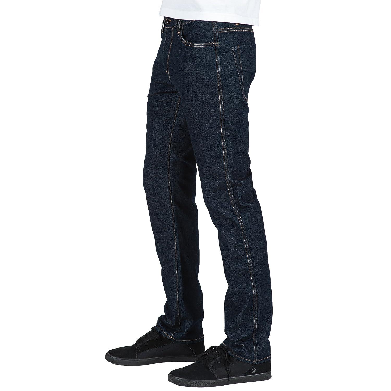 0a9c609806 Volcom Men's Solver Form Jean, Sgene Black, 38X32 at Amazon Men's Clothing  store: