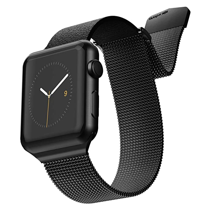 Amazon.com: X-Doria Hybrid Mesh Apple Watch Replaceable ...