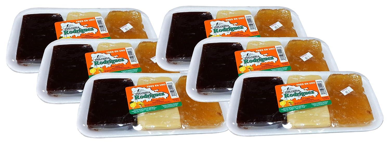 Amazon.com : Dominican Sweet 3 in 1 Guava, Milk Fudge and Orange Dessert 6 Pack : Grocery & Gourmet Food