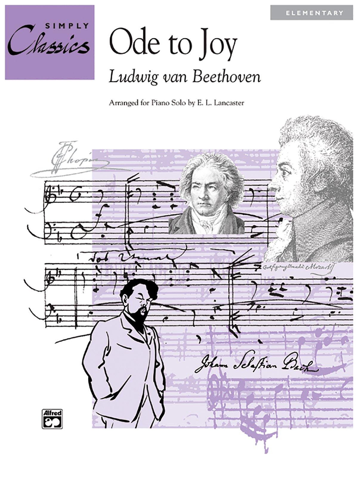 Ode to Joy (Theme from 9th Symphony): Sheet (Simply Classics Solos): Daniel  Dorff, Ludwig Van Beethoven, E. L. Lancaster: 9780739013410: Amazon.com:  Books