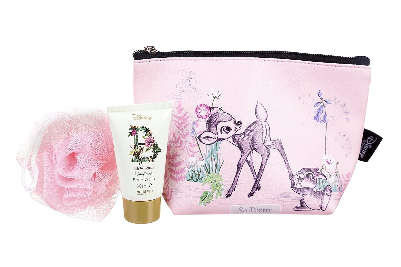 Disney Bambi Thumper Wildflower Wash Bag Set Mad Beauty