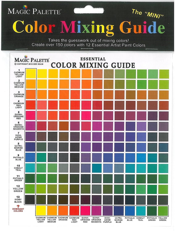 Amazon Series 5700 Magic Palette The Mini Color Mixing Guide
