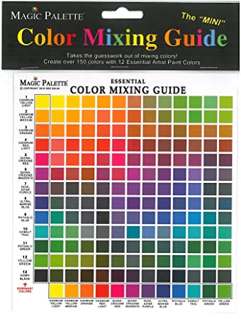 Series 5700 Magic Palette The Mini Color Mixing Guide, 6 5