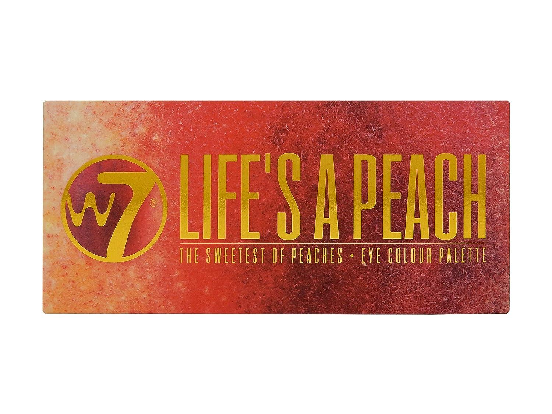 W7 W7 Life's A Peach 12pc Eye Colour Palatte 9.6g 5060503767430