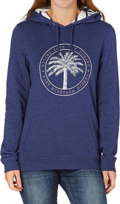 TALLA S. Roxy Cozy Ride to Sunset Sudadera Mujer Blue Print FR: