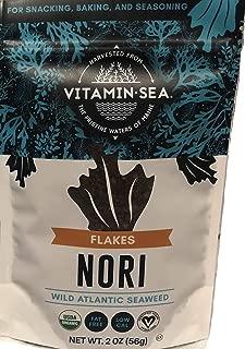product image for VITAMINSEA Organic Raw Nori Flakes - 2 OZ - Atlantic Seaweed Vegan Certified (NF2)