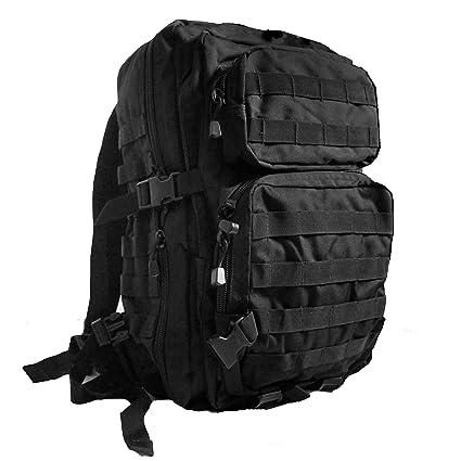 Miltec - Mochila de senderismo, color negro